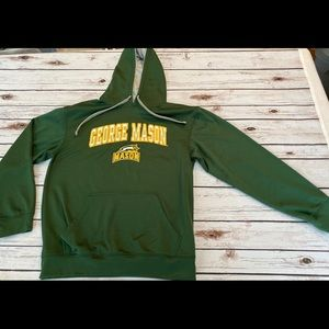 George Mason University hooded sweatshirt hoodie M